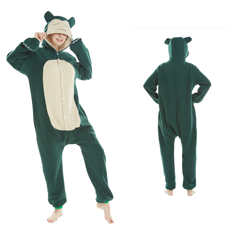 Animal Pajamas Snorlax Kigurumi Anime Cosplay Costume CMD148