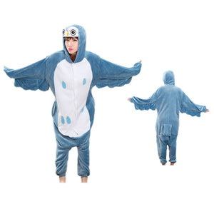 Unisex Owl Kigurumi Animal Onesie Pajamas Cosplay Costume CMD013-Owl - cosplaymadness