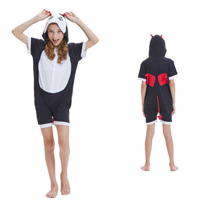 Kids Summer Animal Pajamas Devil Cosplay Costume CMD139