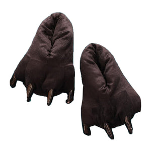 Unisex Black Animal Onesies Kigurumi Slippers Shoes CMD039 - cosplaymadness