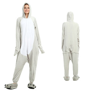 Unisex Sea Lion Kigurumi Animal Onesie Pajamas Cosplay Costume  CMD019-Sea Lion - cosplaymadness