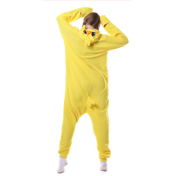 Animal Onesies Pajamas Yellow Chicks Cosplay Costume CMD166