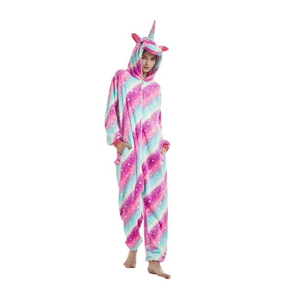 Unisex Animal Pajamas For Adult Pegasus Cosplay Costume Ball Wear CMD102 - cosplaymadness