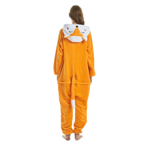 Fox Kigurumi Animal Onesie Pajamas Cosplay Costume CMD005