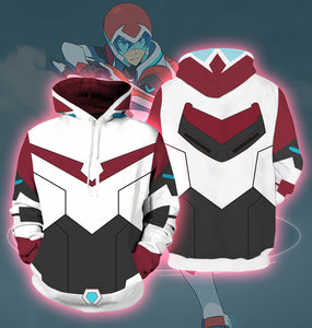 Anime - Voltron 3D Printing Pullover Hoodie CMV589