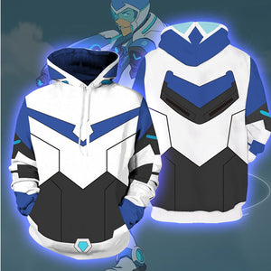 Anime - Voltron 3D Printing Pullover Hoodie CMV577