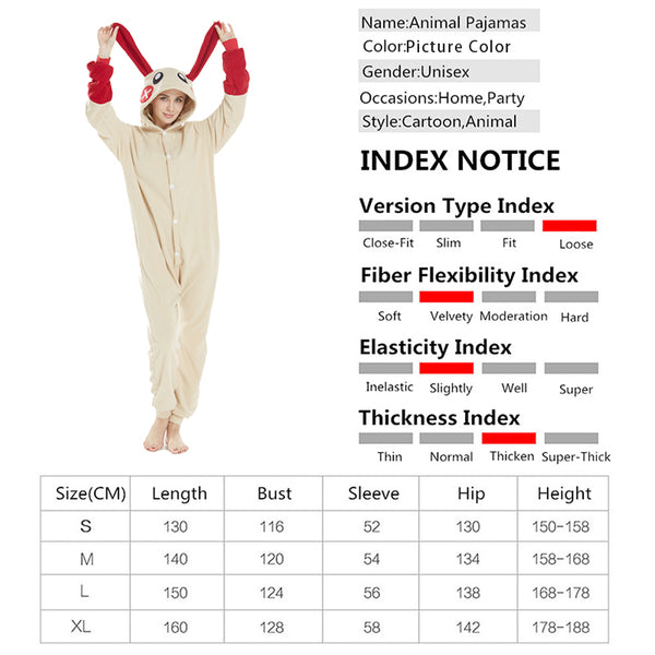 Animal Pajamas Kigurumi Anime Cosplay Costume CMD154
