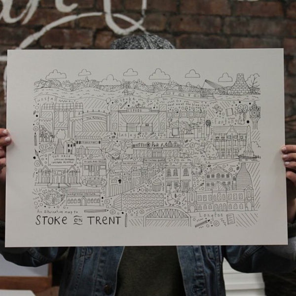 An Alternative Map of Stoke-On-Trent