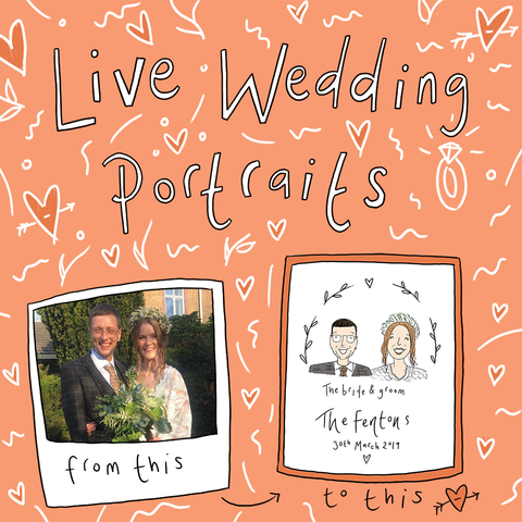 Live Wedding Portrait Package