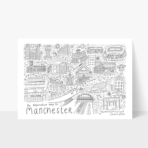 An Alternative map of Manchester