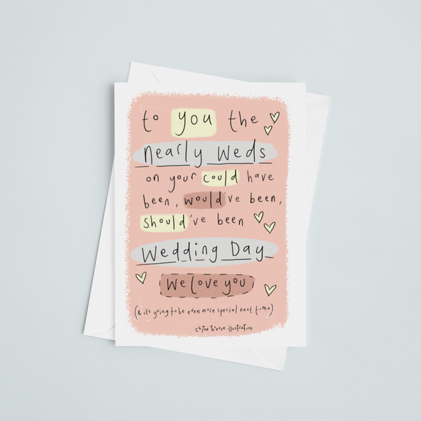 Nearly Weds Greeting Card