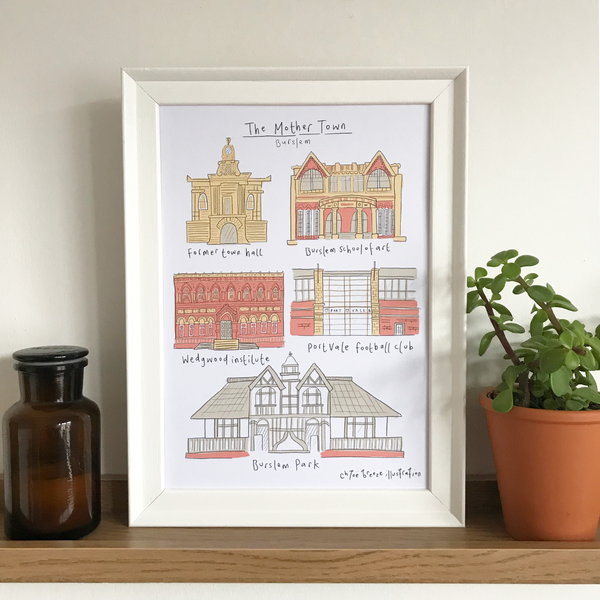 The Mother Town - Burslem Print