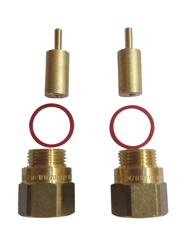 Meir 15mm Wall Tap Spindle Extender - 2 Pack (SKU: 60874) Image - 1