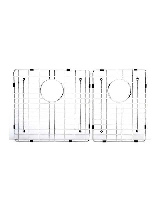 Meir Lavello Protection Grid for MKSP–D670440 (2pcs) - Polished Chrome (SKU: GRID-04) Image - 1