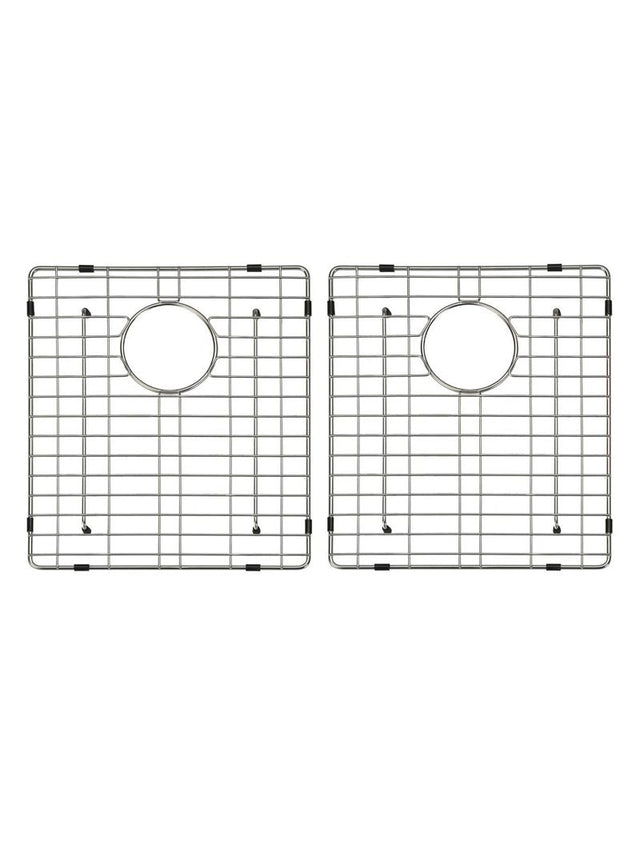 Lavello Protection Grid for MKSP–D860440 (2pcs) - Polished Chrome (SKU: GRID-03) by Meir