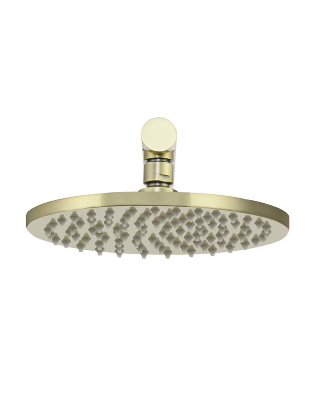 Meir Round Wall Shower, 200mm rose, 300mm arm - Tiger Bronze (SKU: MA0204-BB) Image - 3