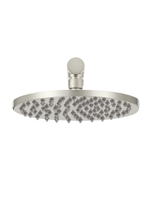 Meir Round Wall Shower, 200mm rose, 300mm arm - PVD Brushed Nickel (SKU: MA0204-PVDBN) Image - 3
