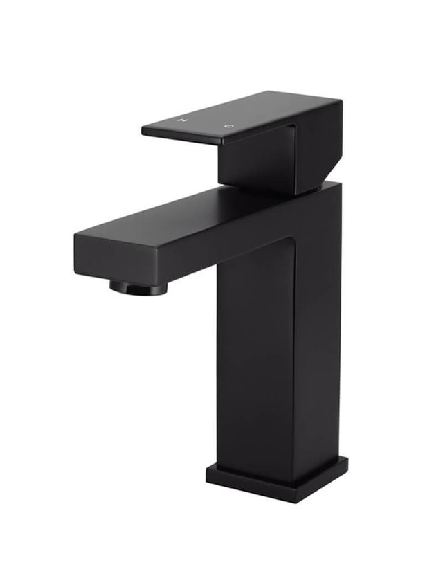 Meir Square Basin Mixer - Matte Black (SKU: MB01) Image - 1