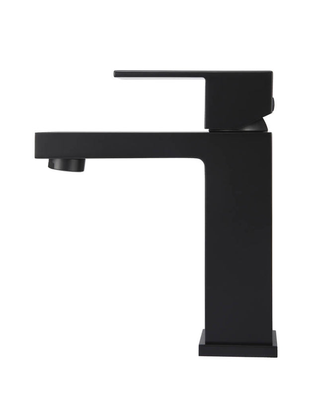 Meir Square Basin Mixer - Matte Black (SKU: MB01) Image - 2