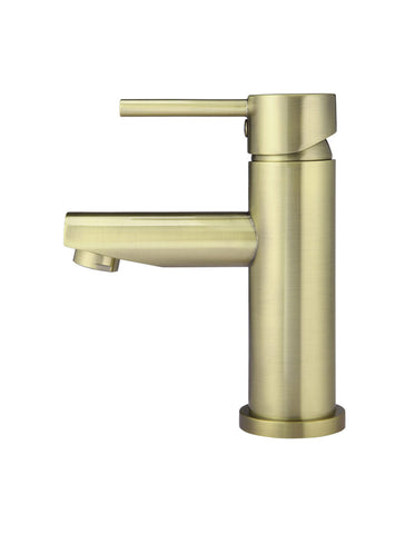 Round Basin Mixer - Tiger Bronze