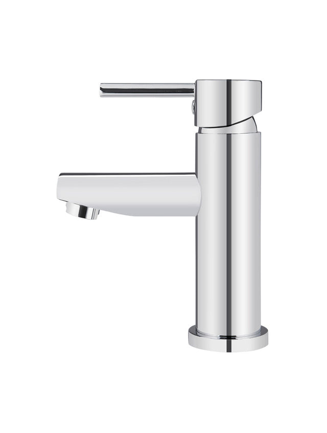 Round Chrome Basin Mixer - Polished Chrome