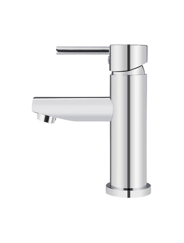 Round Basin Mixer - Polished Chrome