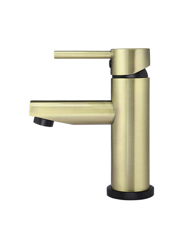 Round Basin Mixer - Gold & Black