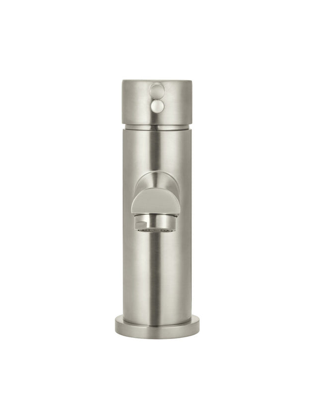 Meir Round Basin Mixer - PVD Brushed Nickel (SKU: MB02-PVDBN) Image - 3