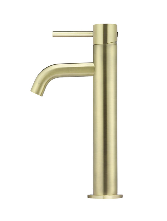 Meir Piccola Tall Basin Mixer Tap - Tiger Bronze (SKU: MB03XL-BB) Image - 2