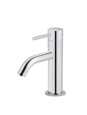Piccola Basin Mixer Tap - Polished Chrome