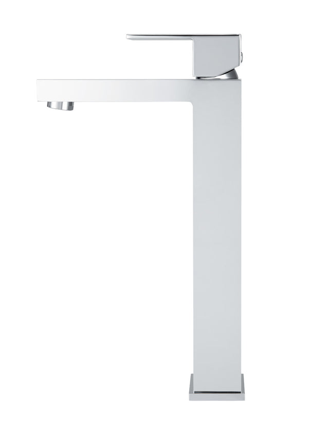 Meir Square Tall Basin Mixer - Polished Chrome (SKU: MB04-C) Image - 2