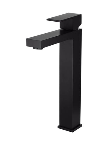 Meir Square Tall Basin Mixer - Matte Black