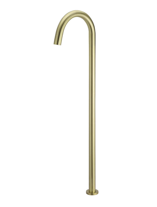 Round Freestanding Bath Filler - Tiger Bronze Gold