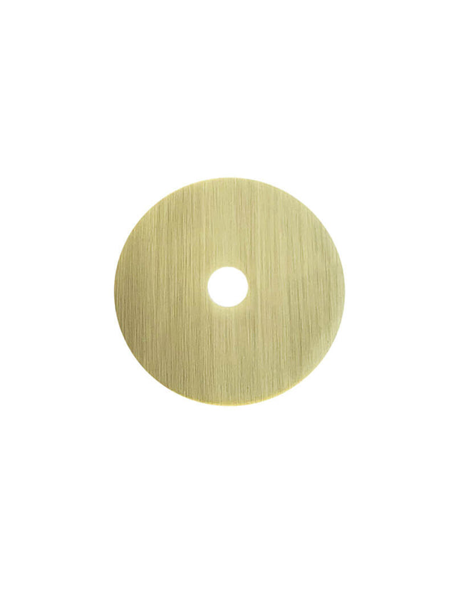 Meir Round Colour Sample Disc Gold - Tiger Bronze Gold (SKU: MD01-BB) Image - 1