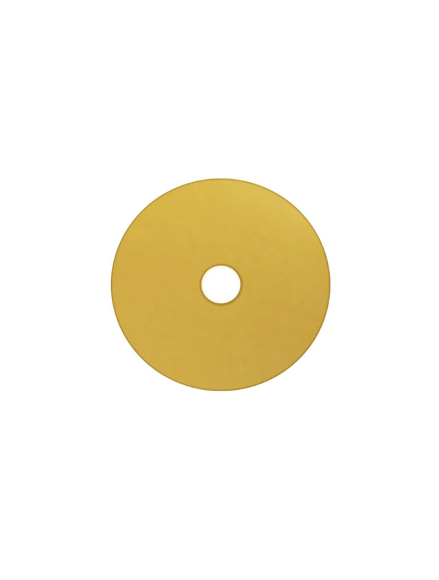 Meir Round Sink Colour Sample Disc - Brushed Gold Bronze - Brushed Gold Bronze (SKU: MD02-BB) Image - 1