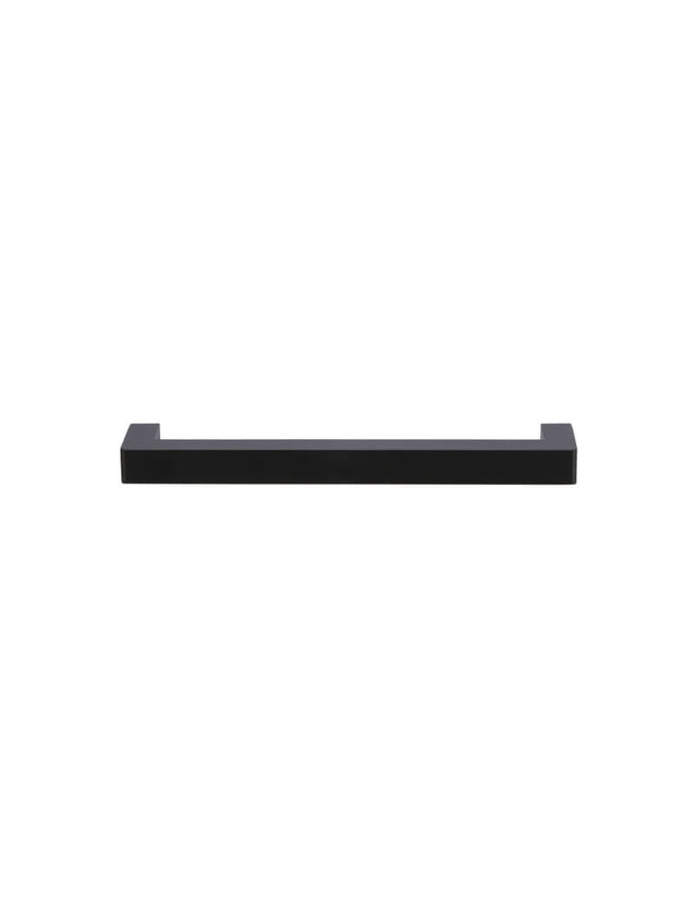 Meir Square Handle for Cabinets 160mm - Matte Black (SKU: MH160-S) Image - 2