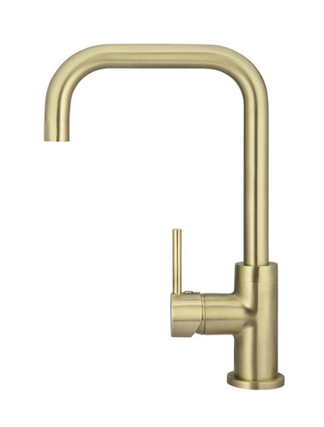 Meir Round Kitchen Mixer - Tiger Bronze Gold