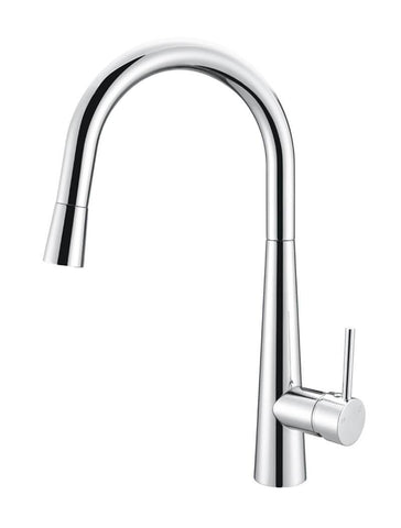 Pull Out Chrome Kitchen Mixer