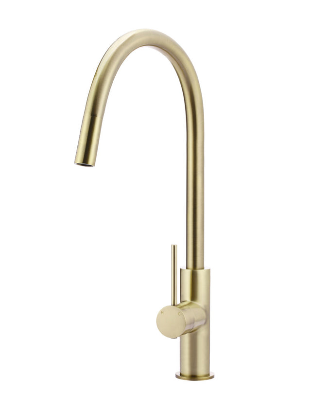 Meir Round Piccola Pull Out Kitchen Mixer Tap - Tiger Bronze (SKU: MK17-BB) Image - 1