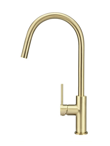 MK17-BB Round Piccola Pull Out Kitchen Mixer Tap - Tiger Bronze