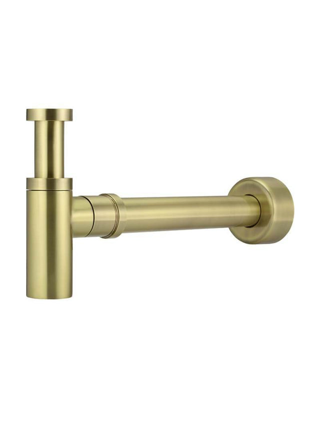 Meir Round Bottle Trap for 32mm basin waste and 40mm outlet - Tiger Bronze (SKU: MP05-R-BB) Image - 1