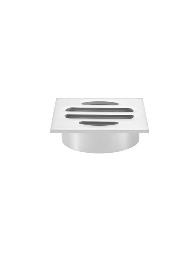 Meir Square Floor Grate Shower Drain 50mm outlet - Polished Chrome (SKU: MP06-50-C) Image - 1