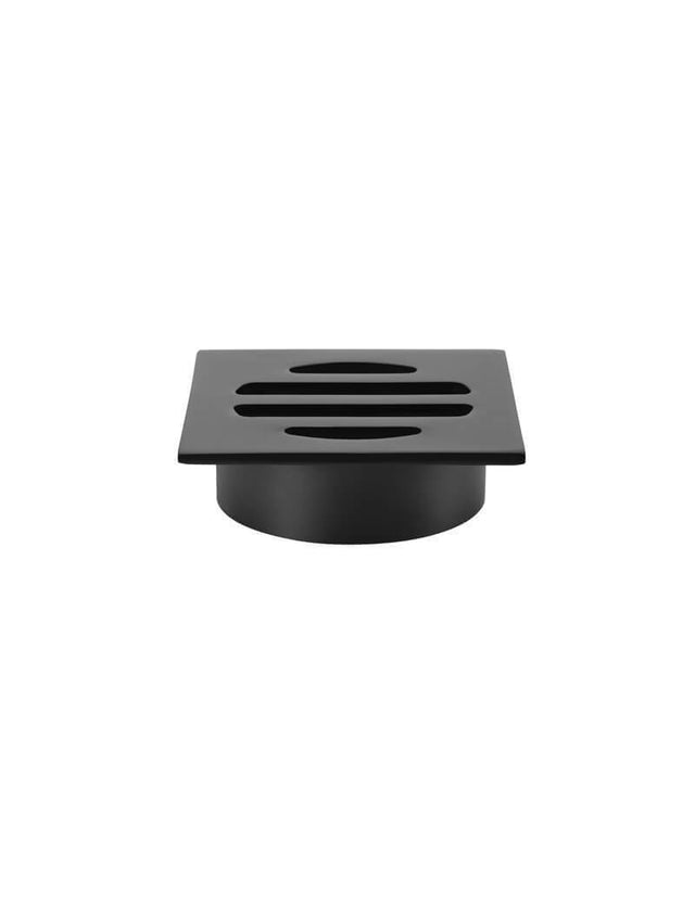 Meir Square Floor Grate Shower Drain 50mm outlet - Matte Black (SKU: MP06-50) Image - 1
