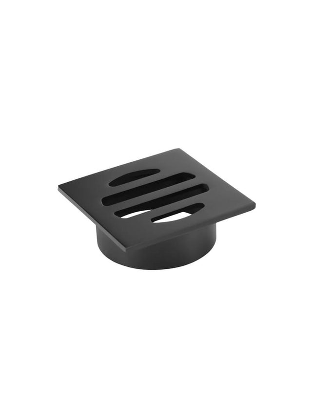 Meir Square Floor Grate Shower Drain 50mm outlet - Matte Black (SKU: MP06-50) Image - 3