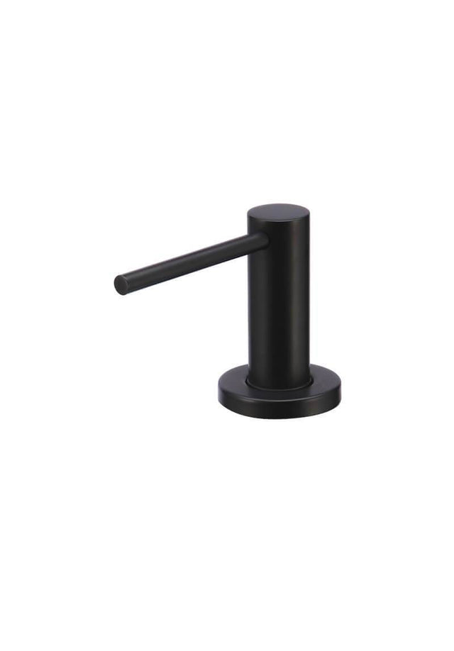 Meir Round Soap Dispenser - Matte Black