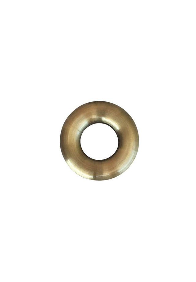 Brass Basin Tiger Bronze Overflow Hole Cover - Tiger Bronze Gold