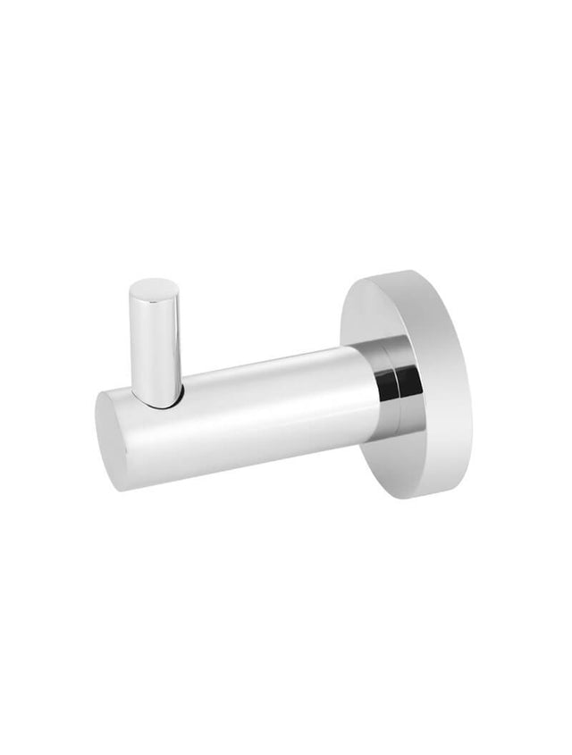 Meir Round Robe Hook - Polished Chrome