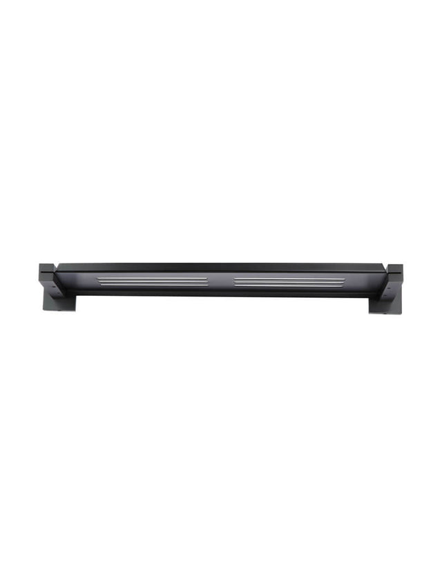 Square Bathroom Shelf - Matte Black