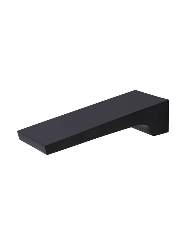 Meir Square Waterfall Spout - Matte Black (SKU: MS04) Image - 1