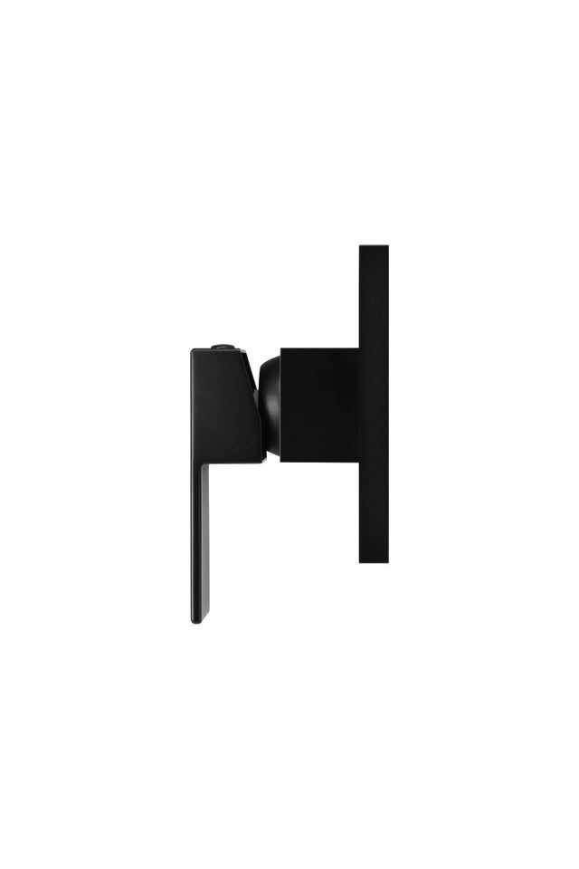 Meir Square Wall Mixer - Matte Black (SKU: MW01) Image - 4